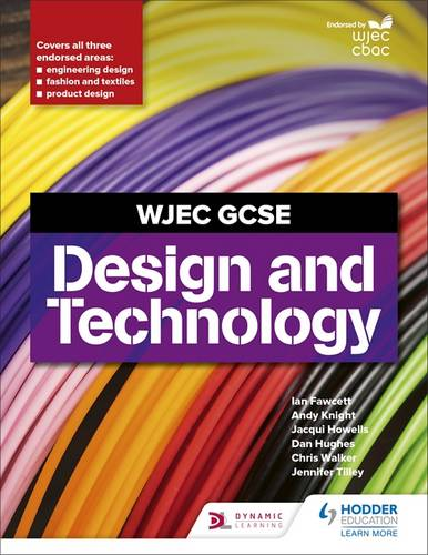 WJEC GCSE Design and Technology - Ian Fawcett - 9781510451353