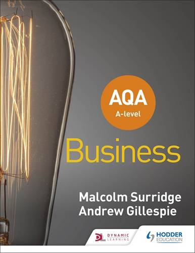 AQA A-level Business (Surridge and Gillespie) - Malcolm Surridge - 9781510453340