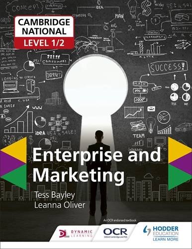 Cambridge National Level 1/2 Enterprise and Marketing - Tess Bayley - 9781510456761