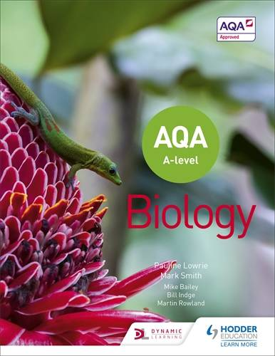 AQA A Level Biology (Year 1 and Year 2) - Pauline Lowrie - 9781510469785