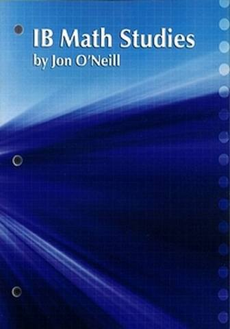 IB Math Studies Course Materials: Student Activities Book - Jon O'Neill - 9781596573901