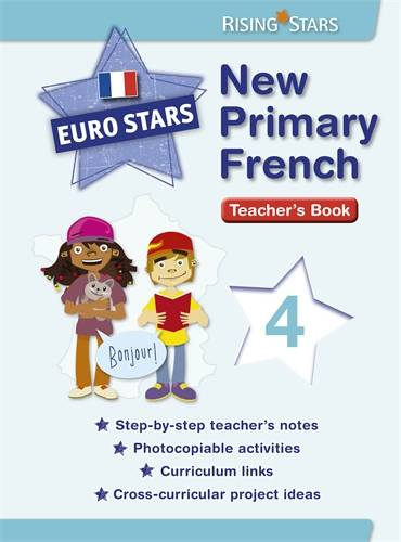 Euro Stars New Primary French 4 (for Years 5 - 6) - Patt Dunn - 9781783392230