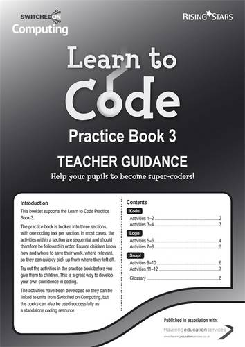 Learn to Code Teacher's Notes 3 - Claire Lotriet - 9781783393473