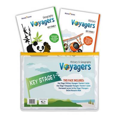 Voyagers History and Geography Key Stage 1 Pack - Hilary Morris - 9781783394258