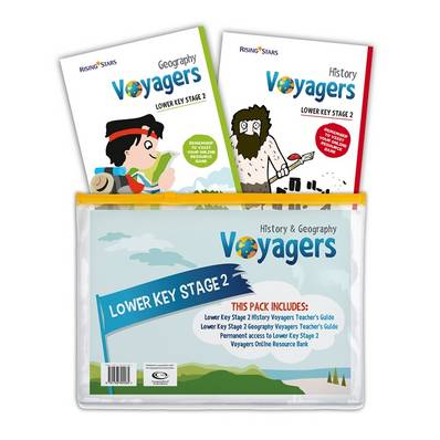 Voyagers History and Geography Lower Key Stage 2 Pack - Hilary Morris - 9781783394265