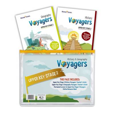 Voyagers History and Geography Upper Key Stage 2 Pack - Hilary Morris - 9781783394272