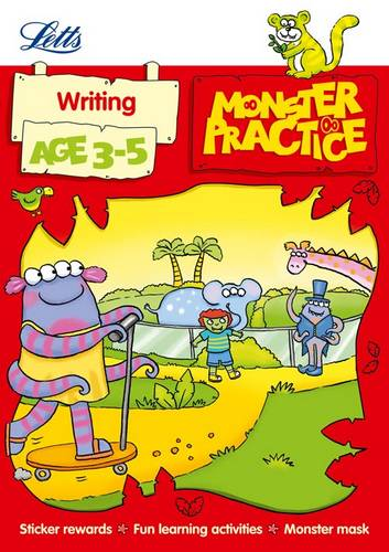 Writing Age 3-5 (Letts Monster Practice) - Carol Medcalf - 9781844197699