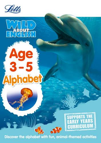 English - Alphabet Age 3-5 (Letts Wild About) - Letts Preschool - 9781844198764