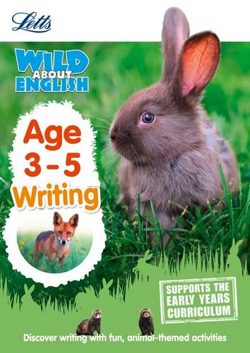 English - Writing Age 3-5 (Letts Wild About) - Letts Preschool - 9781844198771
