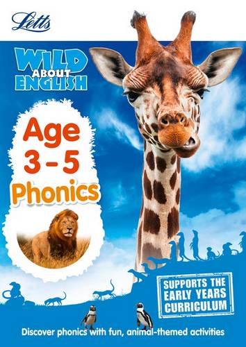 English - Phonics Age 3-5 (Letts Wild About) - Letts Preschool - 9781844198788