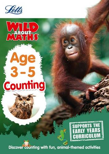 Maths - Counting Age 3-5 (Letts Wild About) - Letts Preschool - 9781844198801