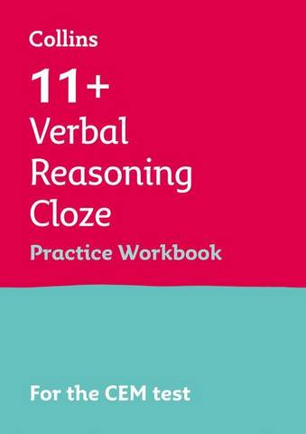 11+ Cloze Results Booster for the CEM tests: Targeted Practice Workbook (Letts 11+ Success) - Letts 11+ - 9781844199006