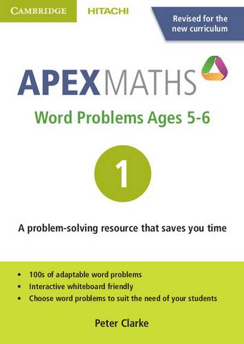 Apex Maths: Apex Word Problems Ages 5-6 DVD-ROM 1 UK edition - Peter Clarke - 9781845652548