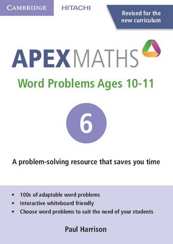 Apex Maths: Apex Word Problems Ages 10-11 DVD-ROM 6 UK edition - Paul Harrison - 9781845652593