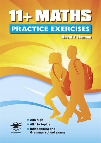 11+ Maths Practice Exercises - David Hanson - 9781905735921