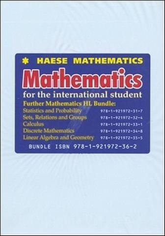 Mathematics for the International Student: Further Mathematics HL Bundle - Michael Haese - 9781921972362