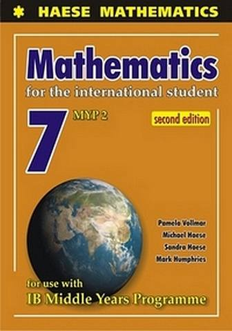 Mathematics for the International Student 7 (MYP 2) 2nd Edition - Michael Haese - 9781921972454