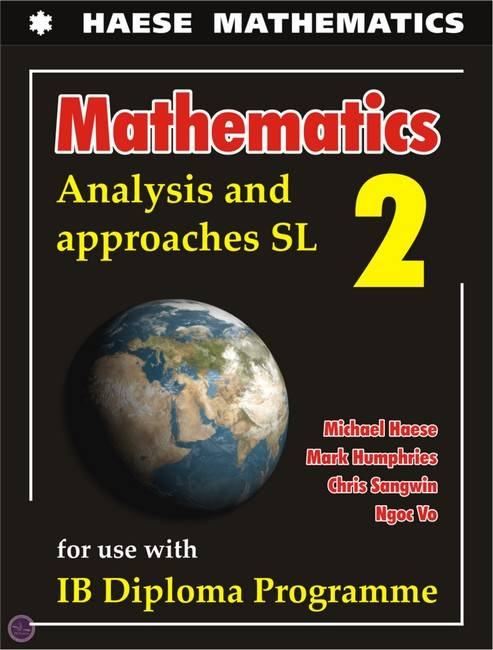 Analysis & Approaches SL-Textbook - Michael Haese - 9781925489569