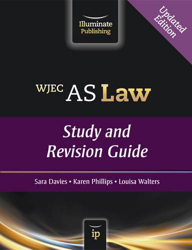 WJEC AS Law: Study and Revision Guide - Sara Davies - 9781908682369