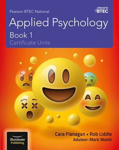 Pearson BTEC National Applied Psychology: Book 1 - Cara Flanagan - 9781912820047