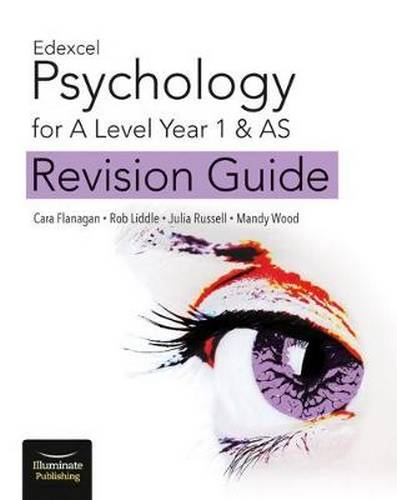 Edexcel Psychology for A Level Year 1 & AS: Revision Guide - Cara Flanagan - 9781912820061