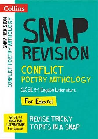 Conflict Poetry Anthology: New GCSE Grade 9-1 Edexcel English Literature (Collins Snap Revision) - Collins GCSE - 9780008353063