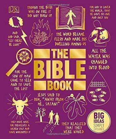 The Bible Book: Big Ideas Simply Explained - DK - 9780241301906