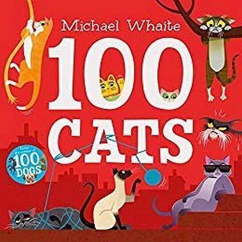 100 Cats - Michael Whaite - 9780241347836