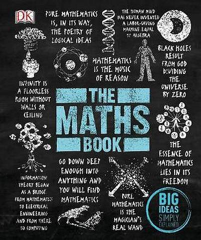 The Maths Book: Big Ideas Simply Explained - DK - 9780241350362