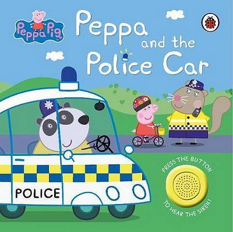 Peppa Pig: Police Car: Sound Book - Peppa Pig - 9780241375877