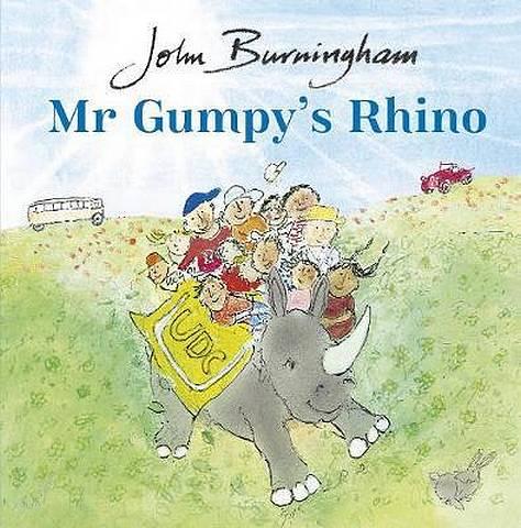 Mr Gumpy's Rhino - John Burningham - 9780857552013