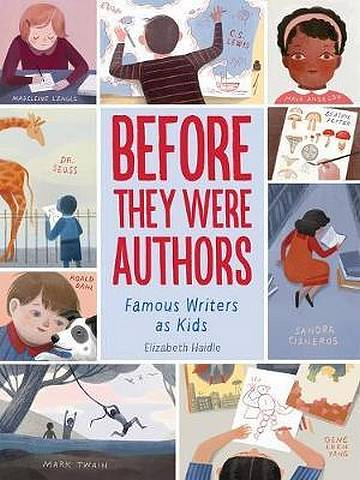 Before They Were Authors: Famous Writers as Kids -