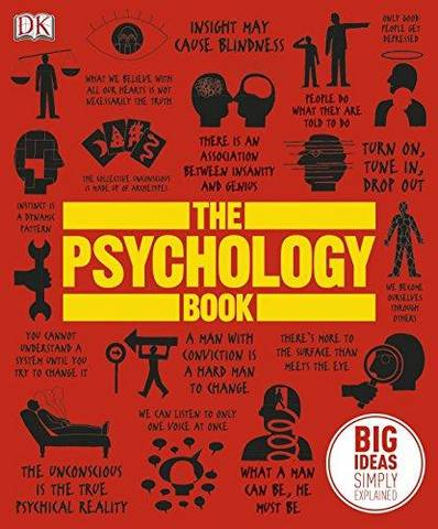 The Psychology Book: Big Ideas Simply Explained - DK - 9781405391245