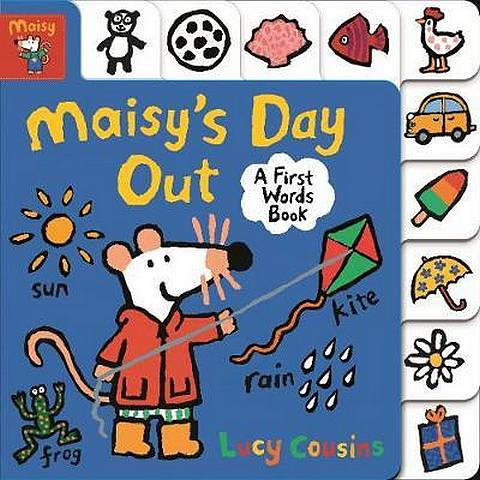 Maisy's Day Out: A First Words Book - Lucy Cousins - 9781406379457