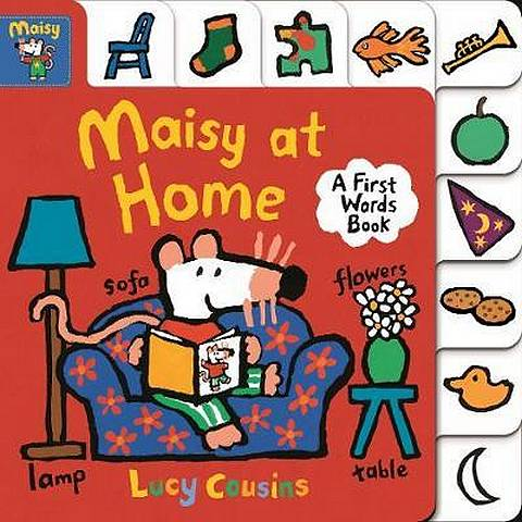 Maisy at Home: A First Words Book - Lucy Cousins - 9781406379464
