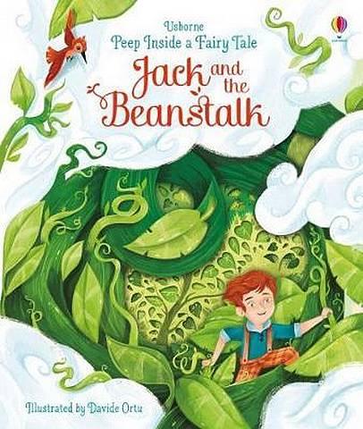 Peep Inside a Fairy Tale Jack and the Beanstalk - Anna Milbourne - 9781474948555