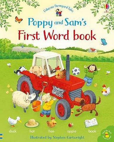 Poppy and Sam's First Word Book - Heather Amery - 9781474952743