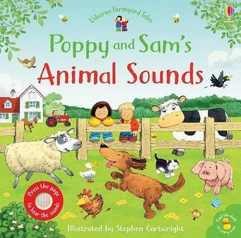 Poppy and Sam's Animal Sounds - Sam Taplin - 9781474958912