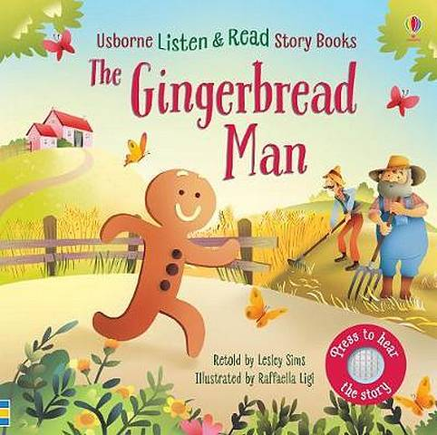 The Gingerbread Man - Lesley Sims - 9781474969598