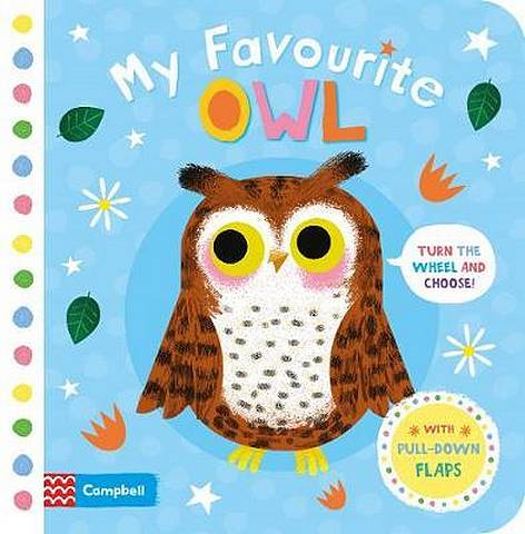 My Favourite Owl - Campbell Books - 9781509898053