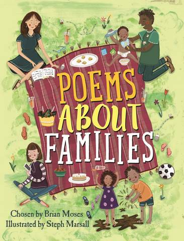 Poems About Families - Brian Moses - 9781526303424