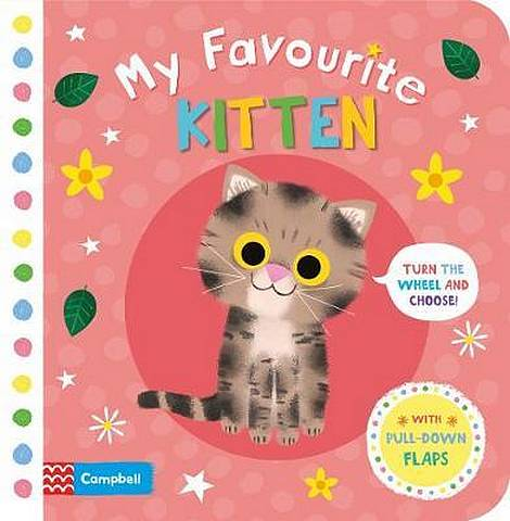 My Favourite Kitten - Campbell Books - 9781529002812