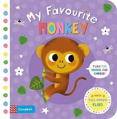 My Favourite Monkey - Campbell Books - 9781529002829