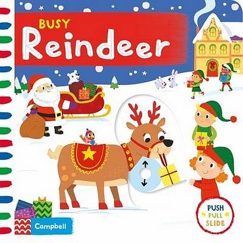 Busy Reindeer - Samantha Meredith - 9781529004922