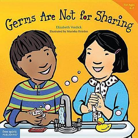 Germs are Not for Sharing - Elizabeth Verdick - 9781575421971