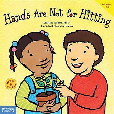 Hands are Not for Hitting - Martine Agassi - 9781575423081