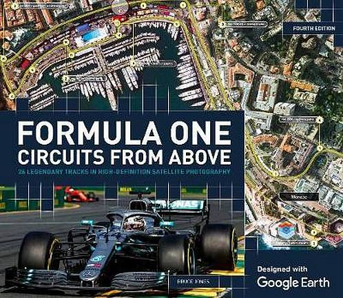 Formula One Circuits From Above - Bruce Jones - 9781787392854