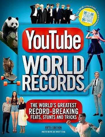 YouTube World Records - Adrian Besley - 9781787392977