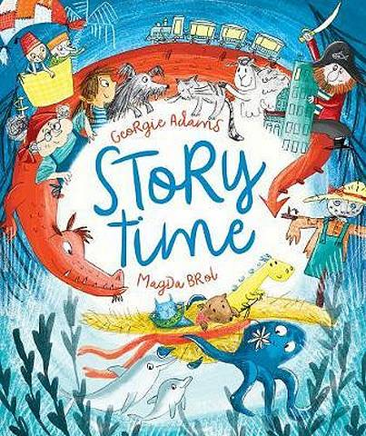 Storytime: A Treasury of Timed Tales - Georgie Adams - 9781788541732