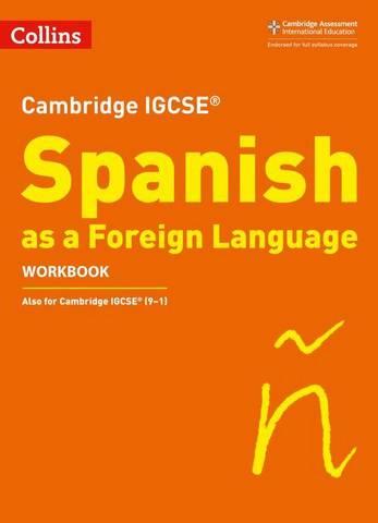 Cambridge IGCSE  Spanish Workbook (Collins Cambridge IGCSE ) - Charonne Prosser - 9780008300395